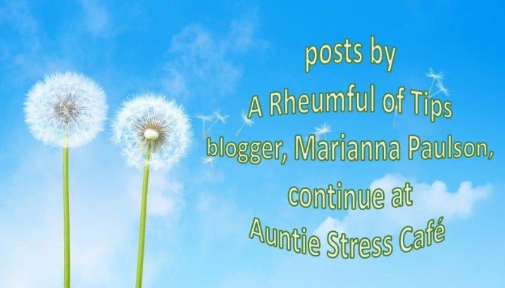 Auntie Stress website